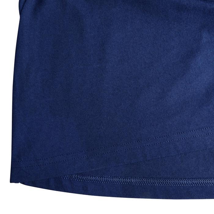 T-shirt voor natuurwandelen en hiking NH500 marineblauw heren