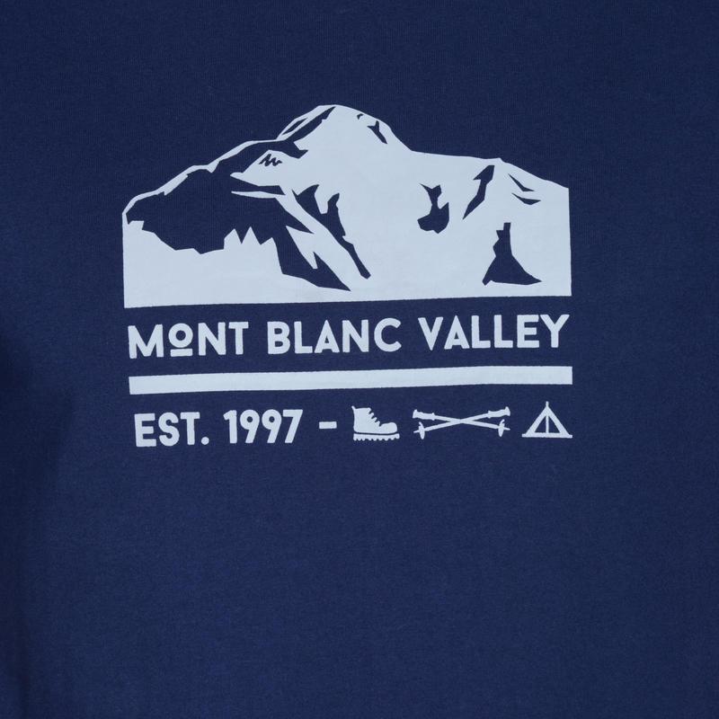 NH500 Men's Country Walking T-shirt - Navy