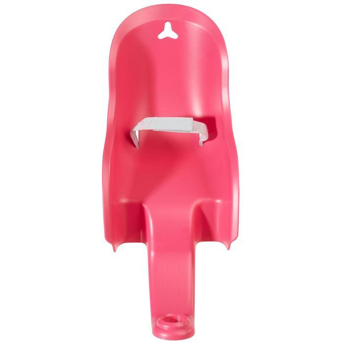 Poppenstoeltje voor kinderfiets roze