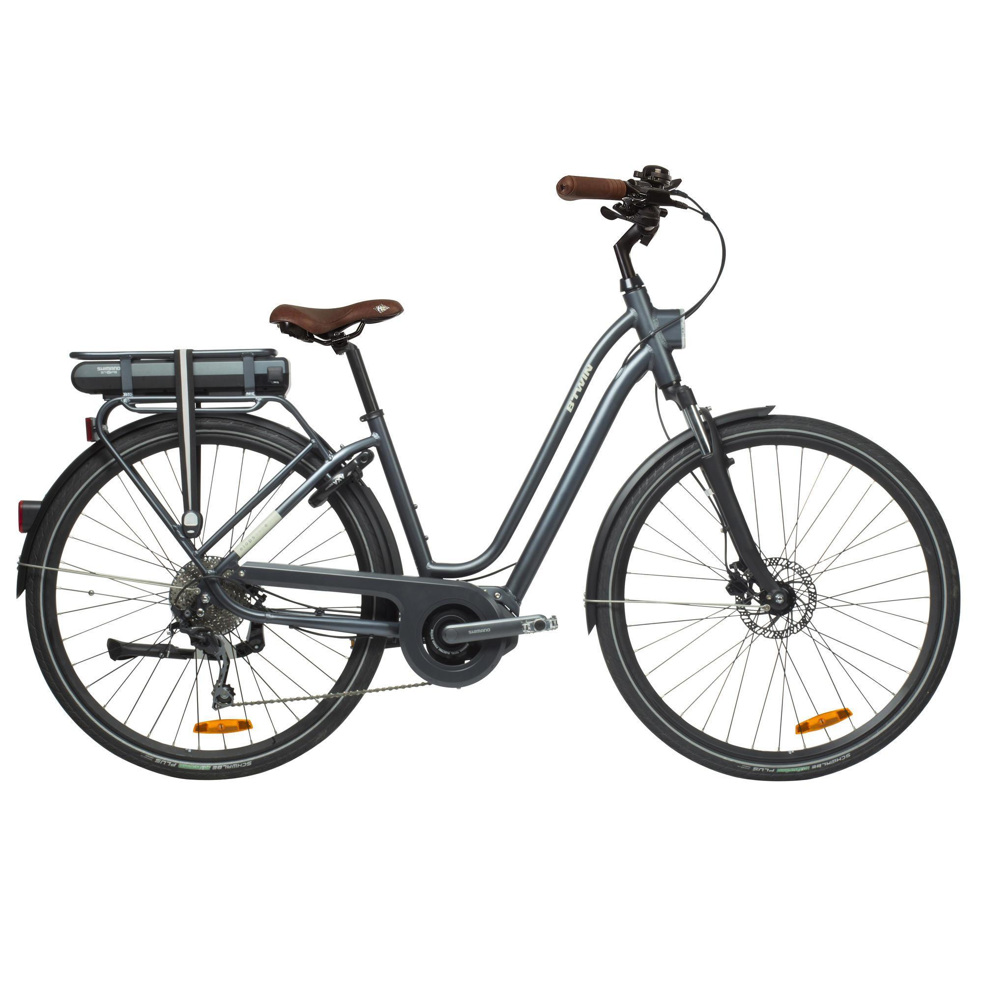 e bike elops 940 tiefer einstieg b 39 twin decathlon. Black Bedroom Furniture Sets. Home Design Ideas
