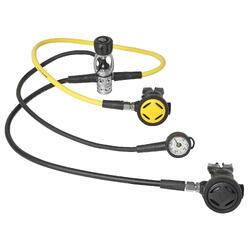 SCD 100 INT Single Piston Octopus Pressure Gauge and Regulator Pack