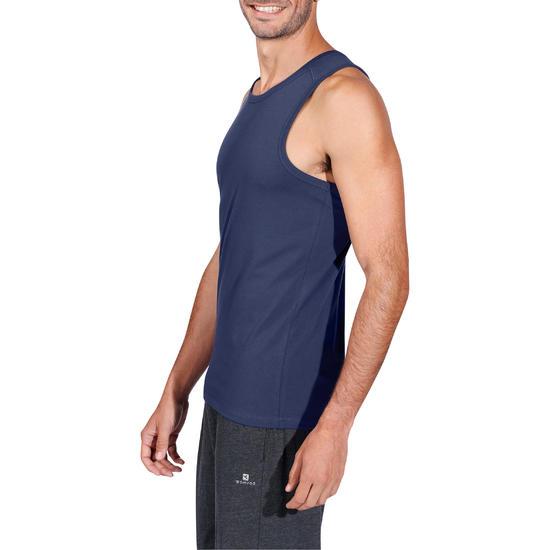 Mouwloos herenshirt voor gym en pilates - 1158211