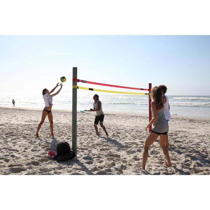 Ballon de beach-volley BV100 jaune et - 115822