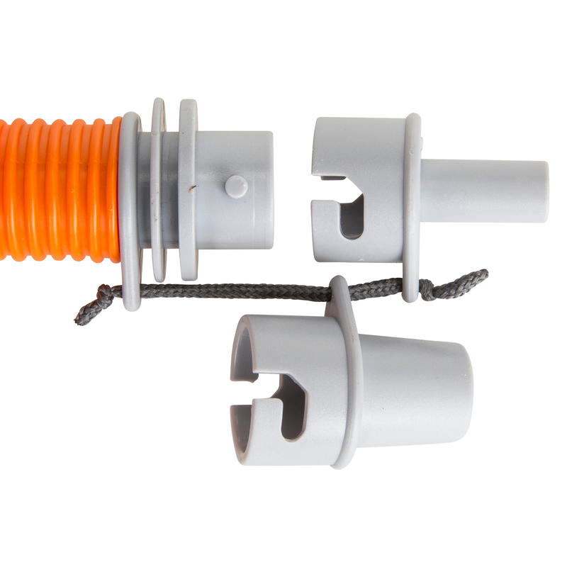 DOUBLE ACTION KAYAK HAND PUMP 2 X 2.6L - ORANGE