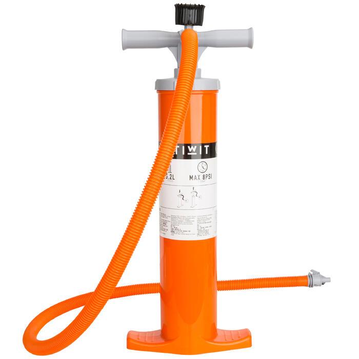 雙向獨木舟打氣筒2 X 2.6 L-橘色