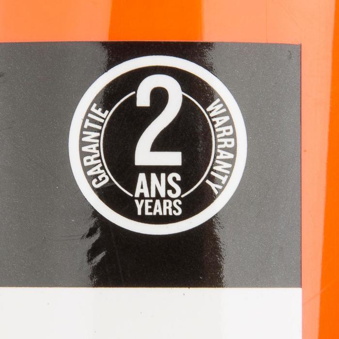 Handpomp met dubbele werking voor kajak 2 x 2,6 l oranje