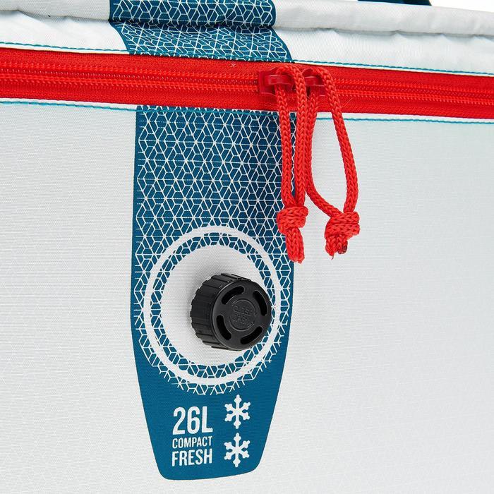 GLACIERE SOUPLE CAMPING / CAMP DU RANDONNEUR ICE FRESH COMPACT 26 LITRES - 1158348