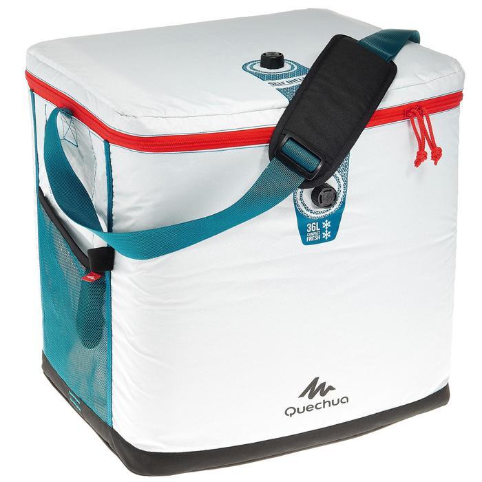 GLACIERE SOUPLE CAMPING / CAMP DU RANDONNEUR ICE FRESH COMPACT 36 LITRES - 1158373