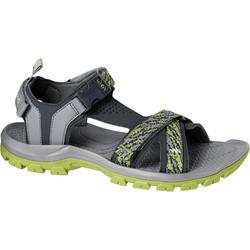 Arpenaz 100 男士登山涼鞋–綠色