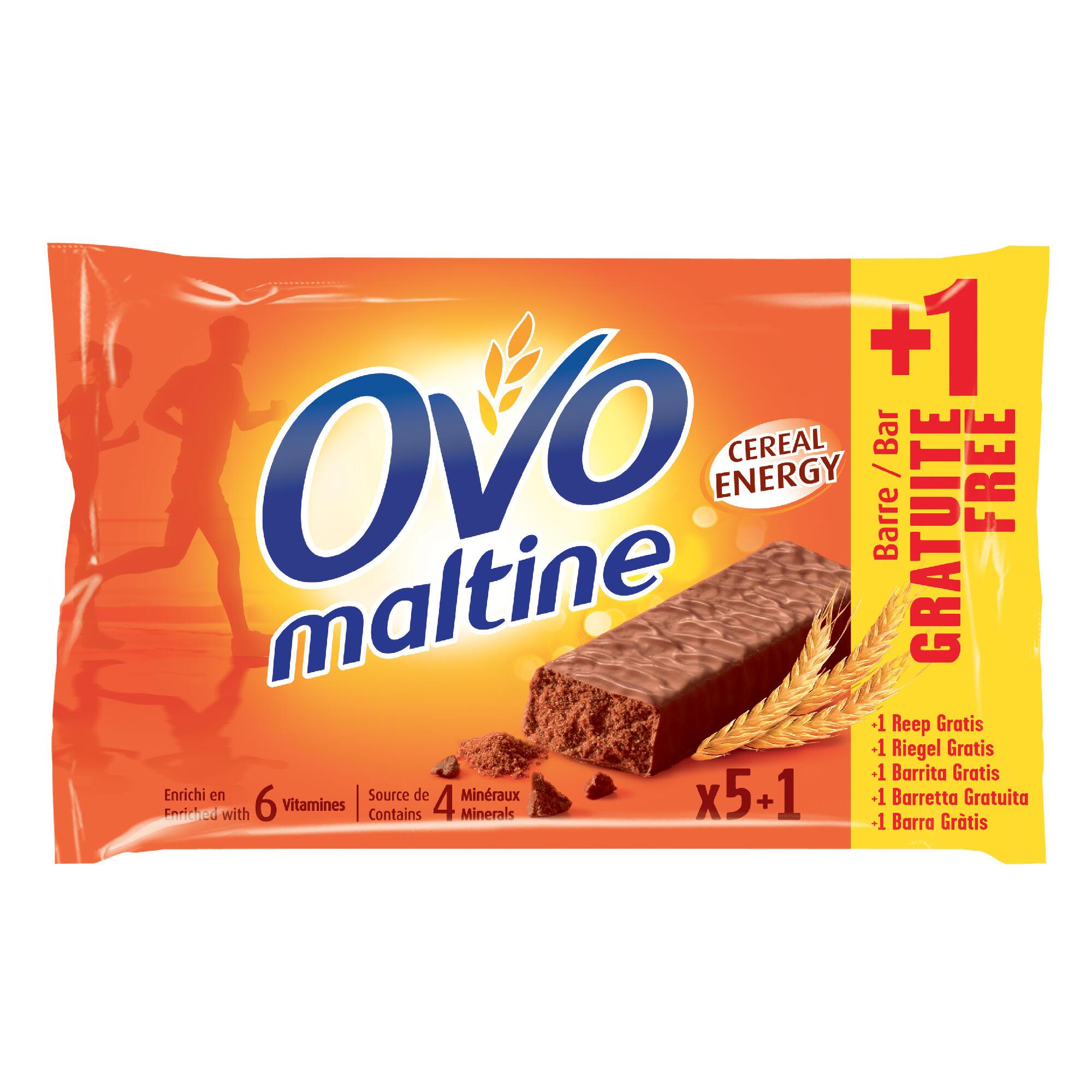 Ovomaltine Promo Ovomaltinerepen 6x20 g waarvan 1 gratis