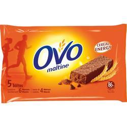 Barrita recubierta OVOMALTINE chocolate 5x20 g