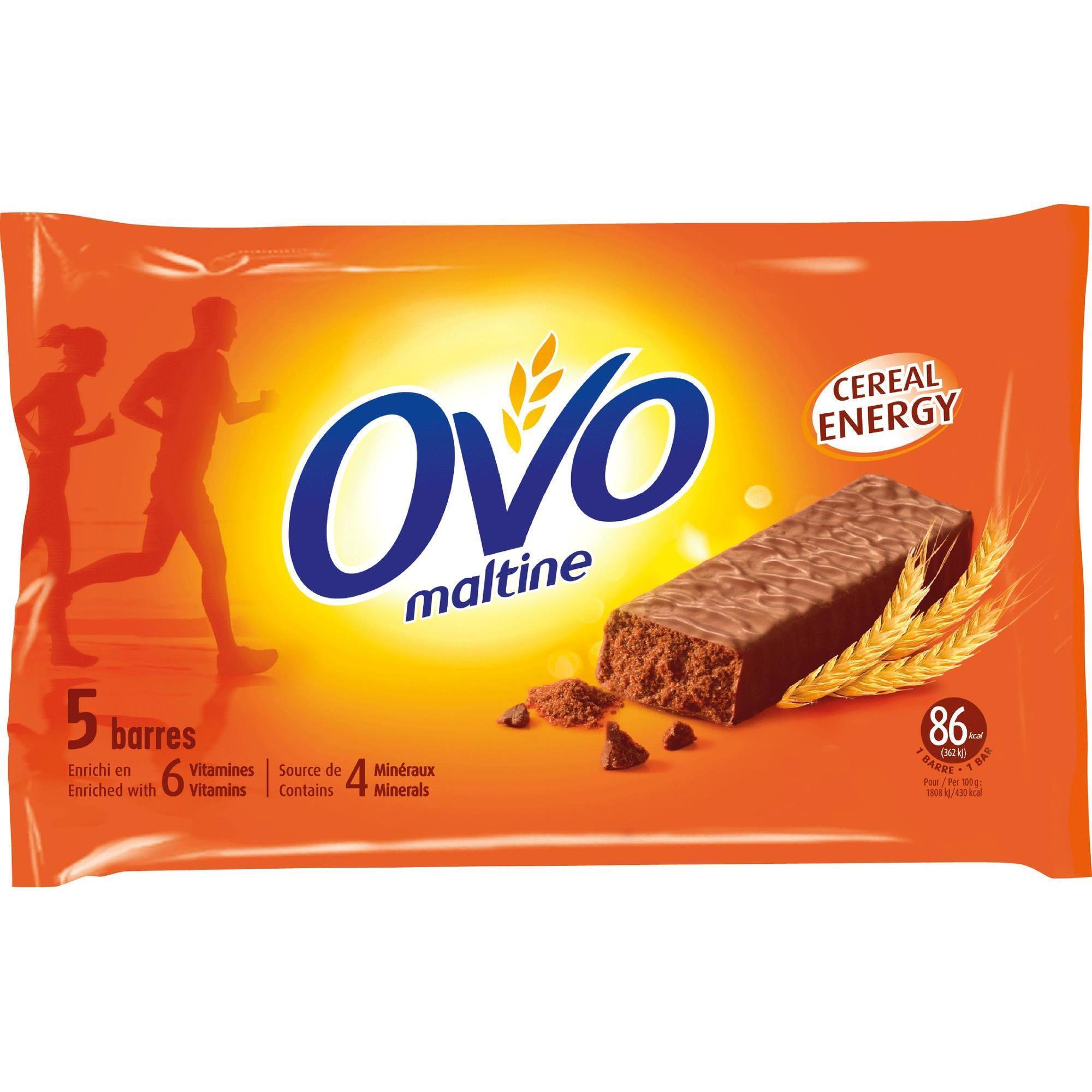 Ovomaltine Ovomaltine reep chocolade 5x 20 g