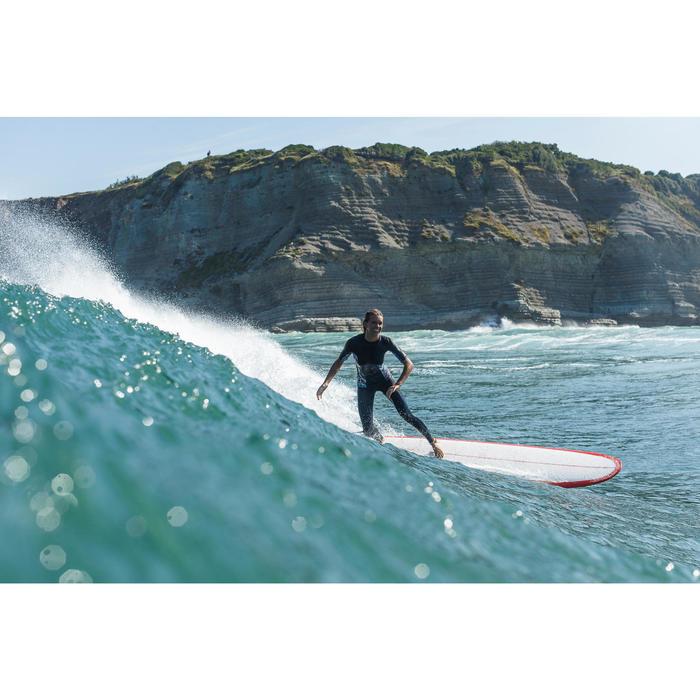Planche de surf Longboard 500 9'  avec ailerons FCS. - 1158500