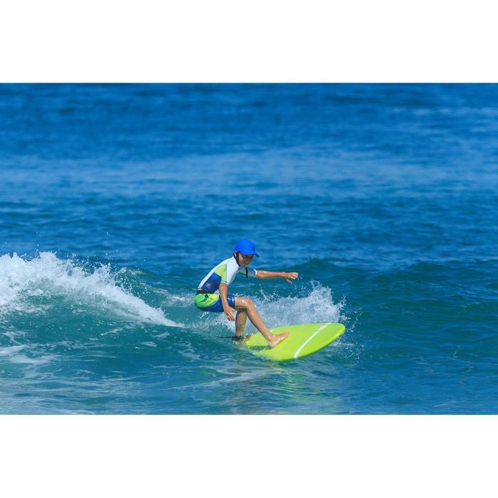 Uv-werende surfpet voor kinderen blauw