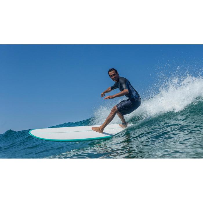 Tabla de surf 500 8'2 mini malibu. Sandwich epoxi. 3 alerones FCS.