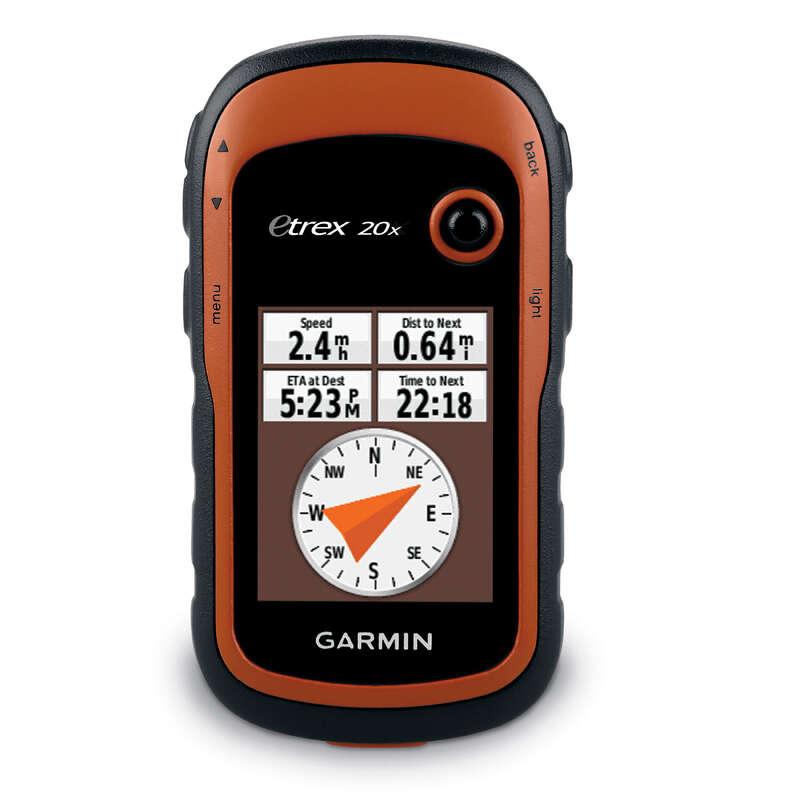 WATCHES, GPS, TALKIE-WALKIES, NAVIGATION Nordic Walking - Etrex 20X Hiking GPS GARMIN - Nordic Walking
