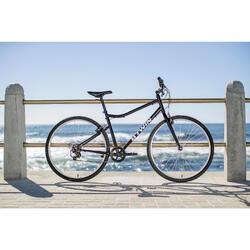 """Cross Bike 28"""" Riverside 100 Stahl schwarz"""