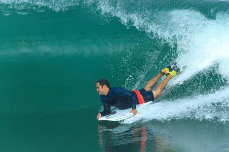 900 Men's Long Sleeve Neoprene Surf Top - Blue
