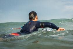 Neopreen surftop 900 met lange mouwen voor heren blauw - 1158945