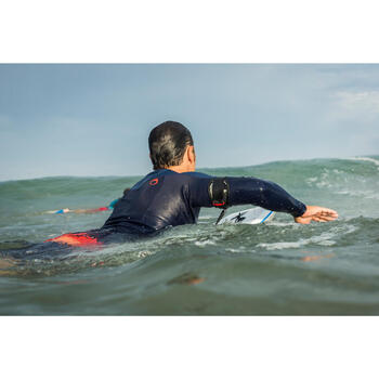 top neoprene surf 900 Manches Longues homme bleu - 1158945