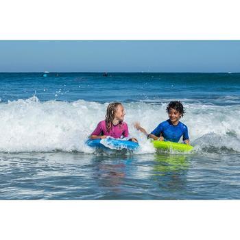 Bodyboard Bodyatu M mit Leash Kinder grün