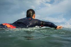 Neopreen surftop 900 met lange mouwen voor heren blauw - 1158950
