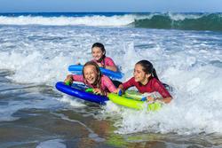 Kindershorty 100 voor surfen neopreen - 1158952
