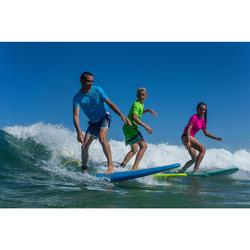 Top Camiseta Proteción Solar Playa Surf Olaian Niño Azul Pacífico ANTI-UV
