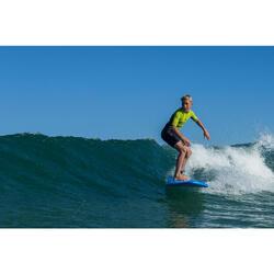 Planche de surf en mousse 100 7'. Livrée avec 1 leash et 3 ailerons.