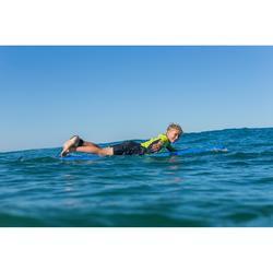 Surfboard aus Schaumstoff 100 Soft 7' inkl. Leash und 3 Finnen