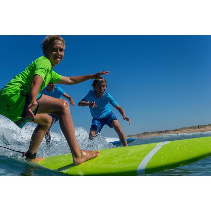 Water camiseta anti-UV surf manga corta niños azul