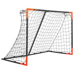 Classic Football Size M Goal - Grey Orange
