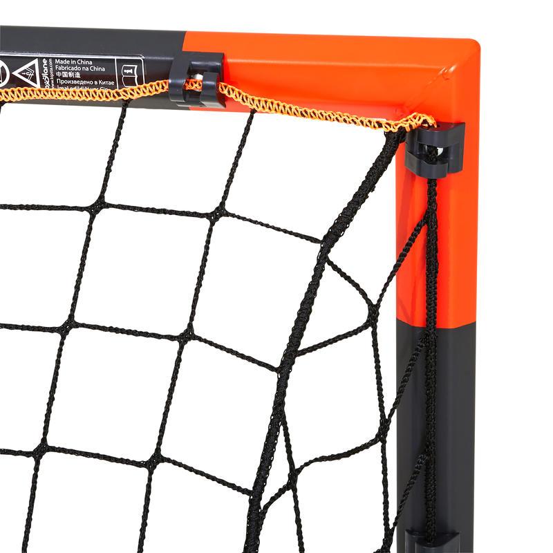 Arco de fútbol Classic Goal talla S gris naranja