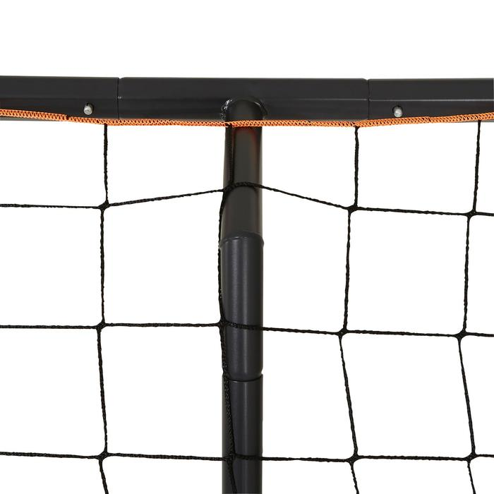 But de football Classic Goal taille L gris orange