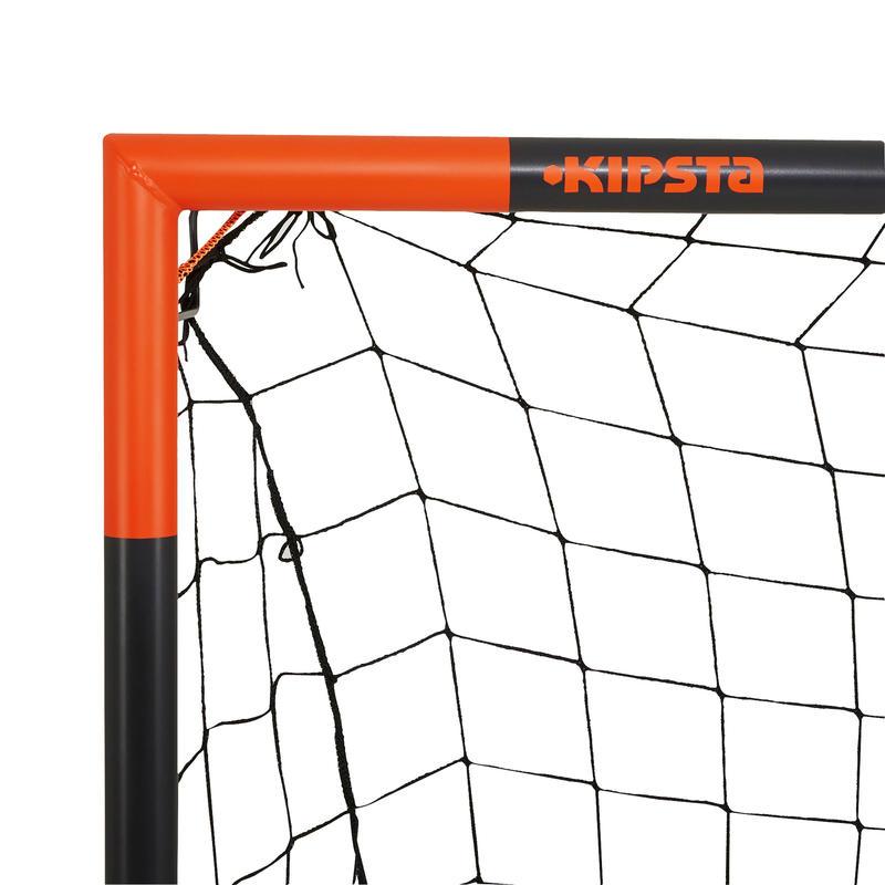 Arco de fútbol Classic Goal talla L gris naranja