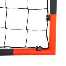 Fußballtor FGO 500 Größe L grau/orange