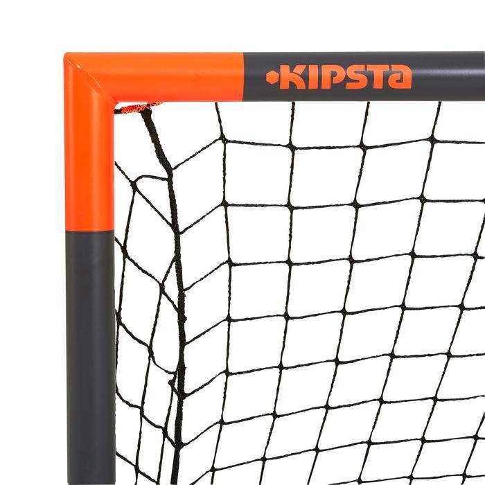 Voetbaldoel Classic Goal maat S grijs oranje
