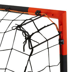 FGO 500 Football Goal Size L - Grey/Orange