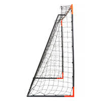FGO 500 Soccer Goal Size L - Grey/Orange