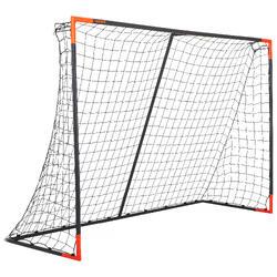 Voetbaldoeltje Classic Goal maat L grijs/oranje