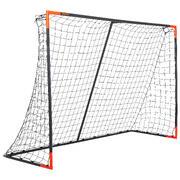 Siv in oranžen klasičen nogometni gol (velikost L)