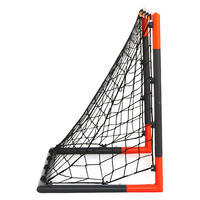 Classic Goal Football Goal Size S - Grey/Orange