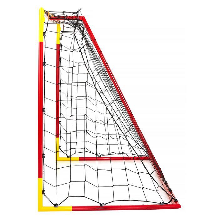 Voetbaldoel Classic Goal maat M rood/oranje
