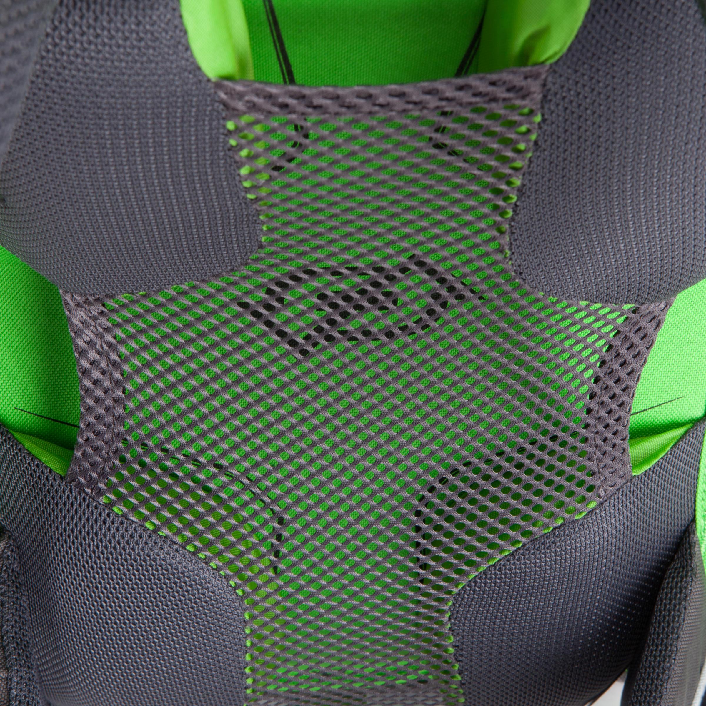Sac à dos F 22 AIRJunior vert gris: dos ventilé procure un confort très agréable