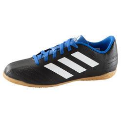 Zaalvoetbalschoenen Sombraro voor kinderen blauw/zwart