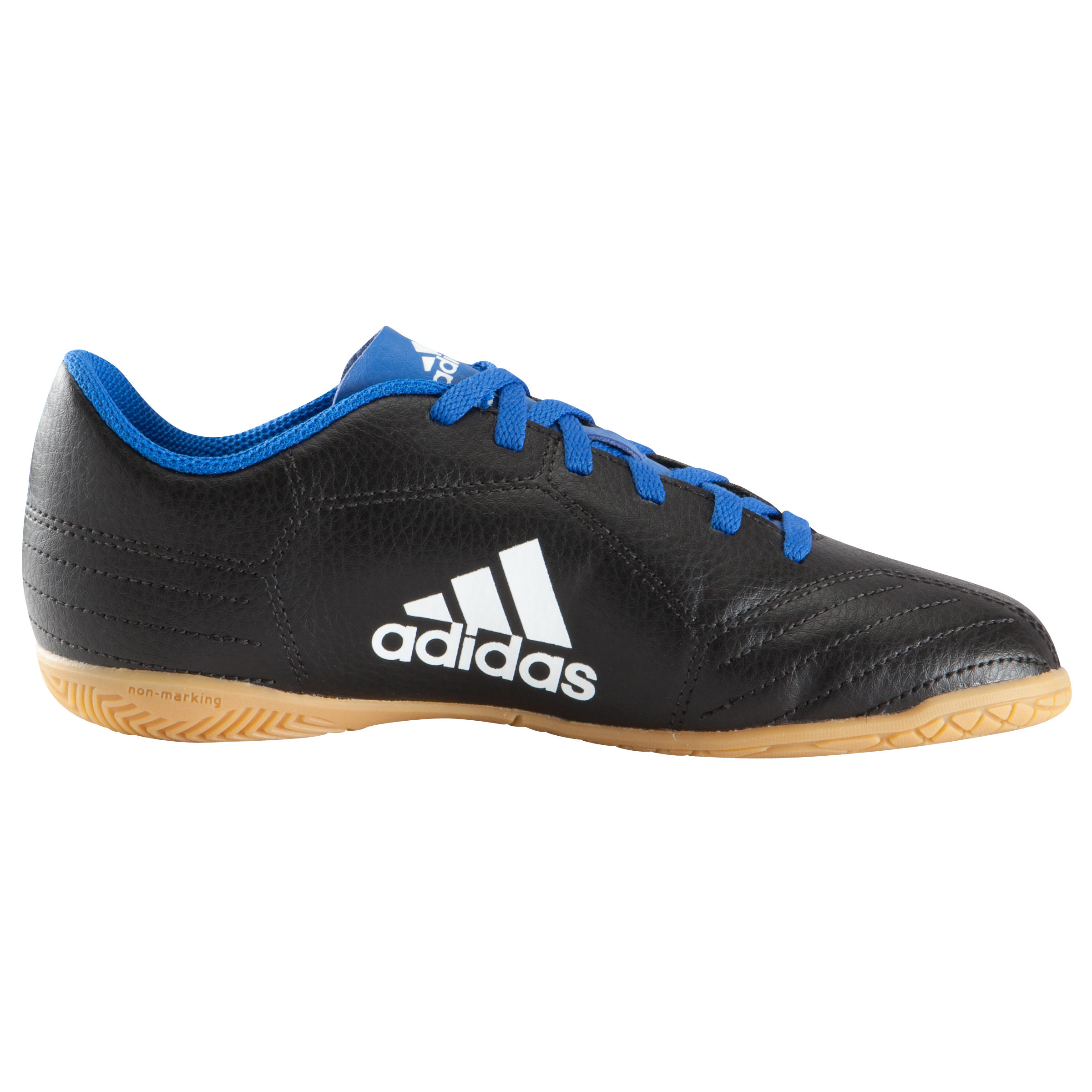 Zaalvoetbalschoen Sombraro 17 voor kinderen blauw-zwart