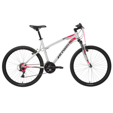 """26"""" Rockrider 340 Mountain Bike - White"""