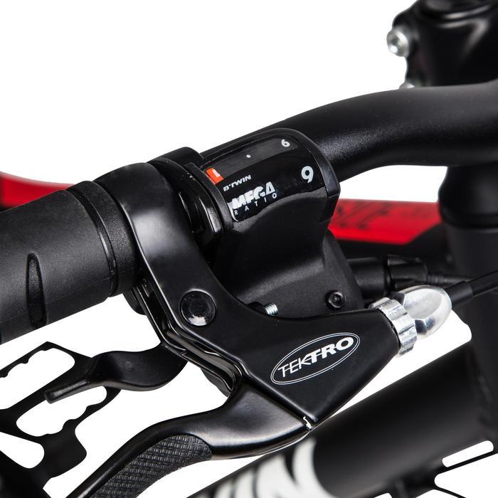 Hybrid Riverside 500 Bike - Grey/Red
