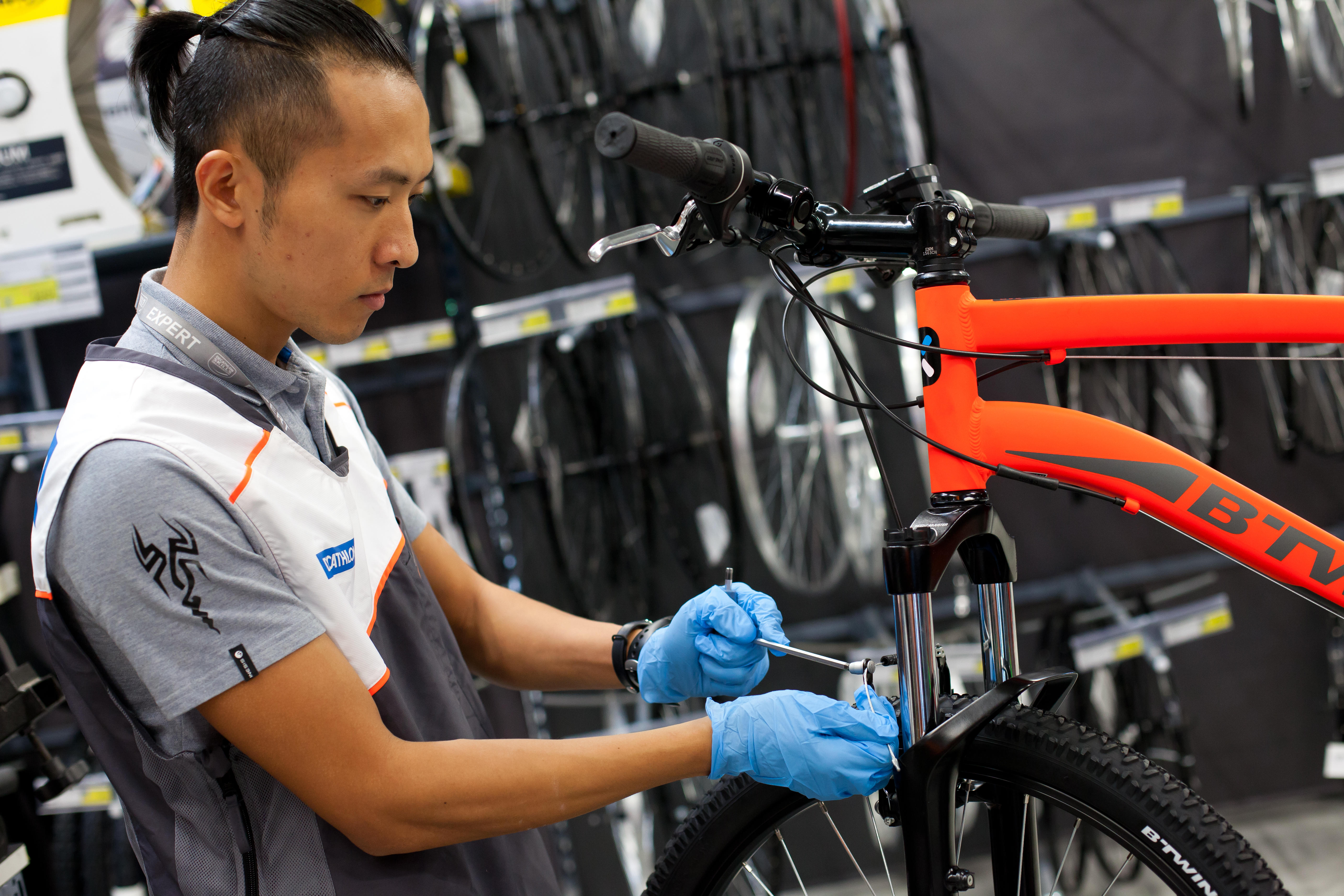 Bike Safety Check-Up