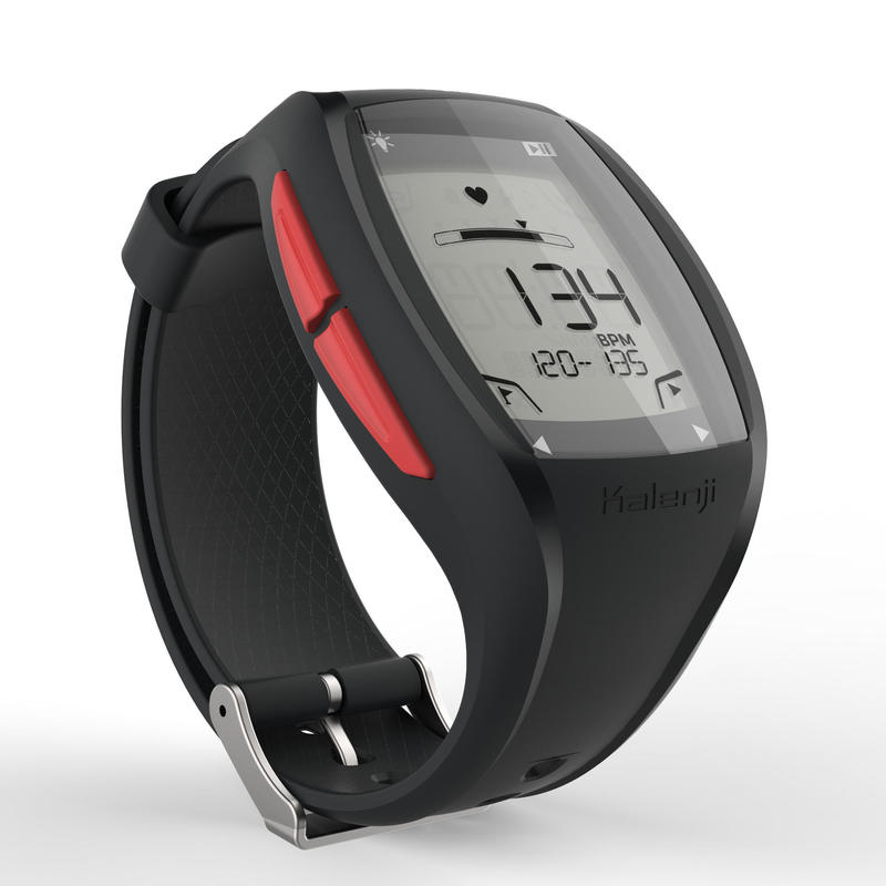 ONRHYTHM 500 runner's heart rate monitor watch red
